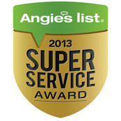 Angies List Superior Service Award 2013