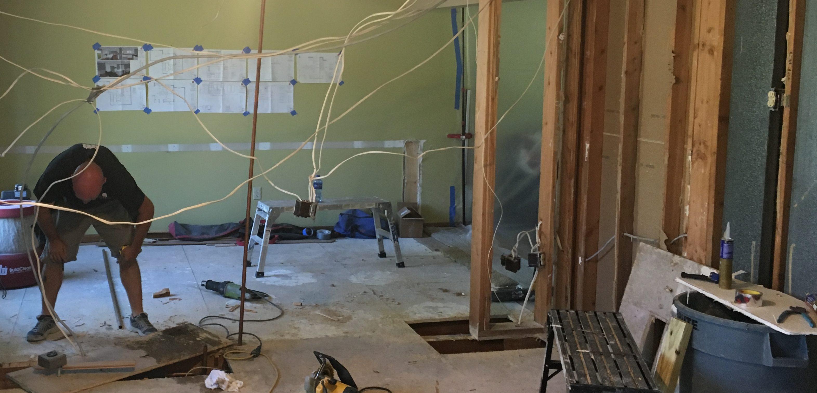 House remodeling blog