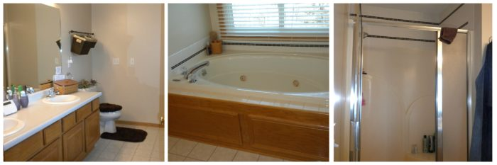 Project Profile Master Bath Transformation From Bland Beginning - Bathroom remodel west des moines