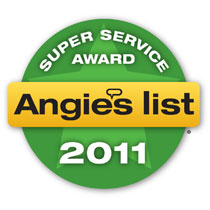 Angie's List Superior Service Award 2012